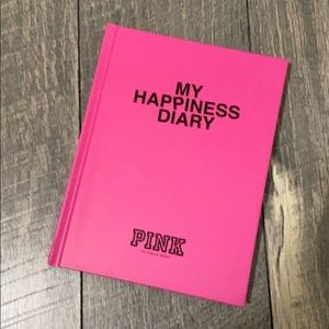 PINK Victoria secret happiness diary
